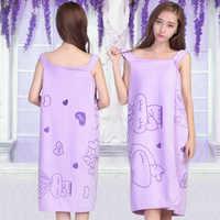 Giantex banheiro feminino microfibra toalhas de banho para adultos wearable toalha de praia envoltório toalha de banho vestido de banho serviette de bain toalha