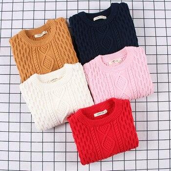 2020 nuevos jerseys de primavera para niños, ropa para niños, bebés, niñas, suéter acanalado, niños, niños, Otoño, suéteres suaves