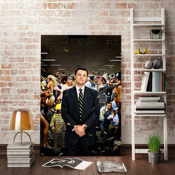 The Wolf of Wall Street Poster Wall Art Decor