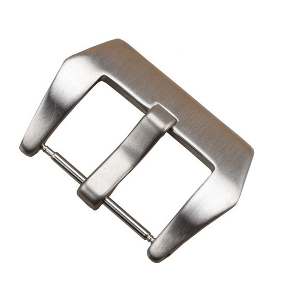 16 18 20 22 24 26mm Stainless Steel Watch Buckle Screw-in Fit For <font><b>PAM</b></font> Diving Watch Band <font><b>Bracelet</b></font> Strap Buckle + Tool image