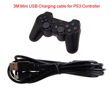 3M 10ft Multi Controller USB Charger Charging Cable Cord For Playstation 3 for PS3