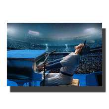 L447 арт рокетман Декстер Флетчер Тарон Эгертон Элтон Джон L-W картина 14x21 24x36 плакат украшение комнаты Настенная картина
