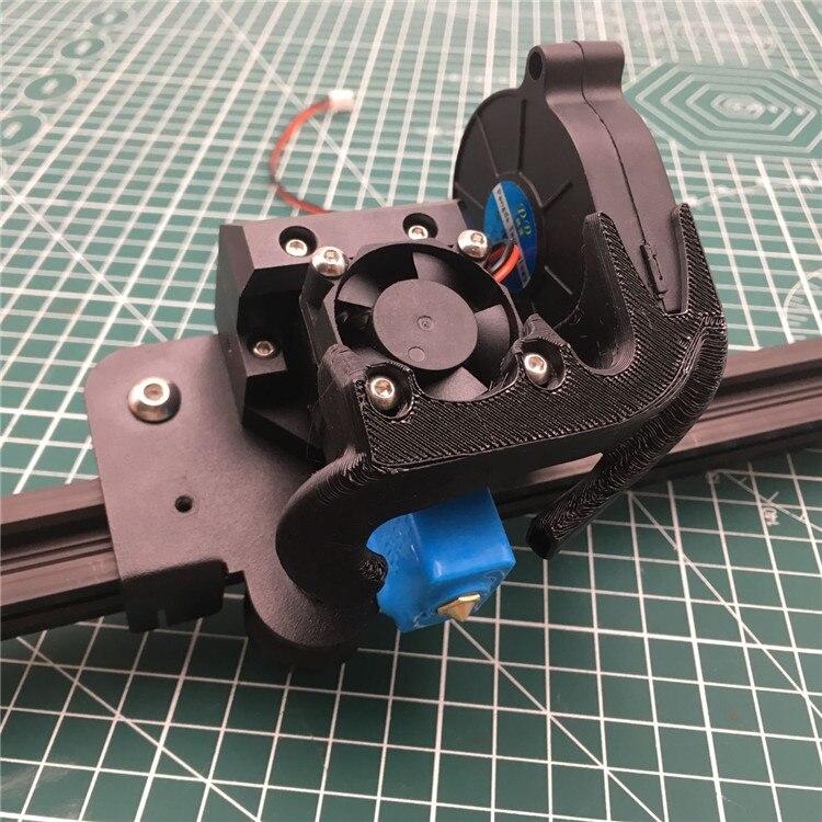 1pcs Tornado Creality ender 3 cr-10 3D printer all metal e3d Volcano hotend mount Creality CR10 v6 m