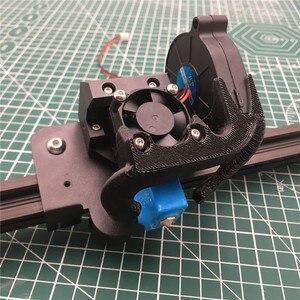 Image 1 - 3D принтер Tornado Creality ender 3, 1 шт., цельнометаллический принтер e3d Volcano hotend mount Creality CR10 v6, набор для модификации 1,75 мм