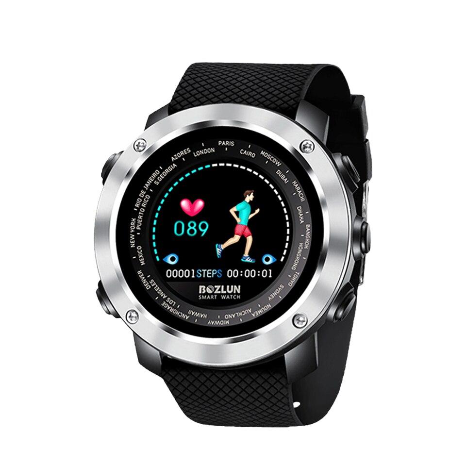 Bluetooth sport montre numérique intelligente hommes fréquence cardiaque moniteur de pression artérielle Bracelet intelligent étanche fitness tracker W30