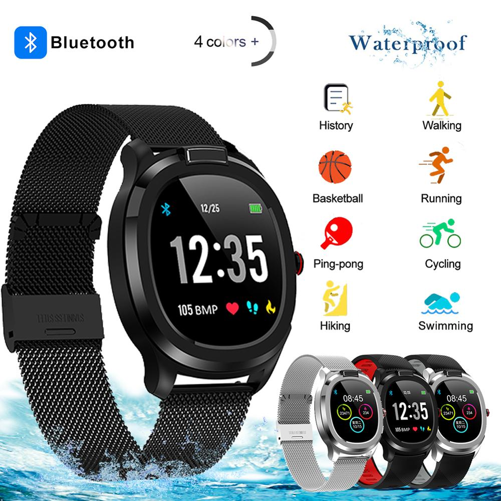 T01 Smart Watch Heart Rate Blood Pressure Monitor Smart Watch Women Smartwatch Men for Apple IOS Android Phone