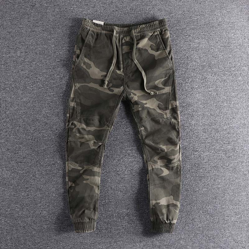 2019 New Arrival Three-dimensional Self-cultivation  Camouflage Youth Trousers Fashion Designer Plus Size Cool Wear High Quality