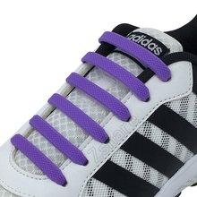 Эластичные Шнурки силиконовые шнурки для обуви удобные креативные