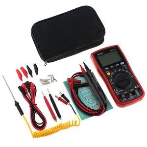 Aneng an870 multímetro digital 19999 contagens rms verdadeiro ac/dc volt amp ohm capacitância frequência temperatura ncv transistor tester