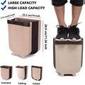 Подвесная корзина для мусора Складная маленькая мусорная корзина для кухонного шкафа OCT998