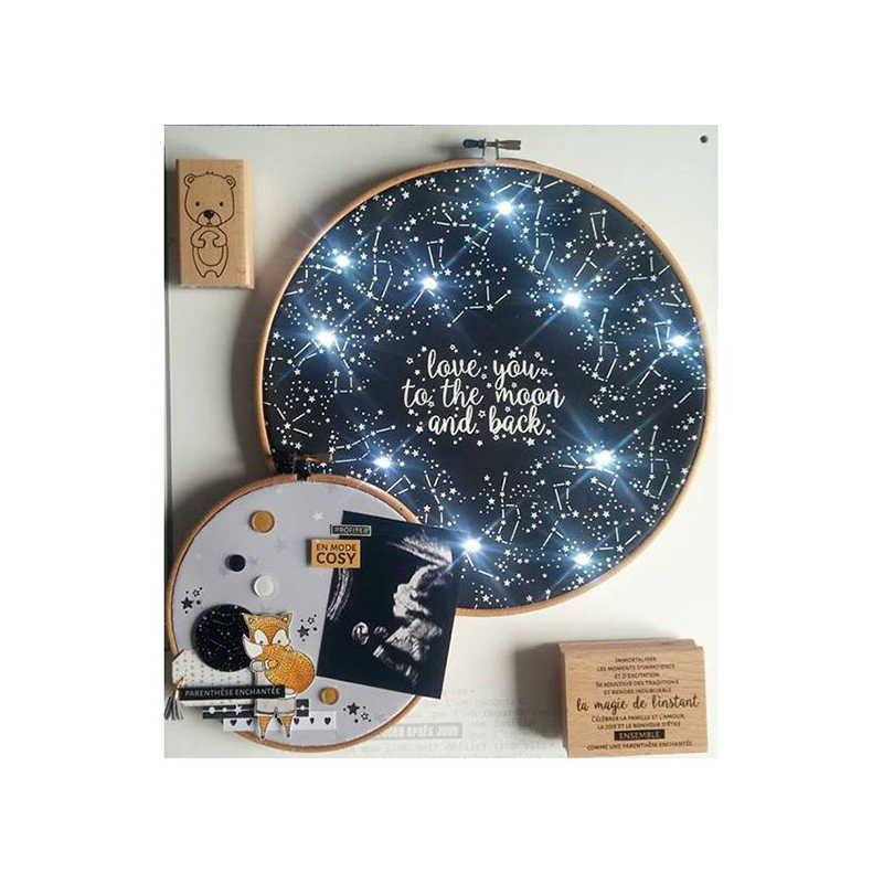 CH içinde yıldız pullar ve kesme ölür Metal kesme ölür ve pullar DIY Scrapbooking kart şablon kağıt el sanatları el yapımı