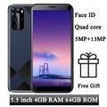 Face ID S7 разблокирована 5,5 дюймов 4 ядра мобильных телефонов 4G Оперативная память 64G Встроенная память смартфонов 5MP + 13MP спереди/сзади Камера Wi-...