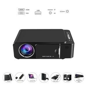 Image 2 - VIVICINE 1280x720p HD Portable Projektor, option Android 10,0 HDMI USB 1080p Home Theater Proyector WIFI Mini Led Beamer