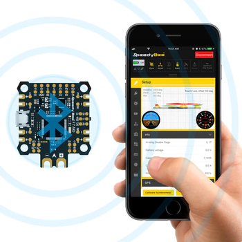 RunCam SpeedyBee F7 AIO Flight Controller BLE Module Integrated Betaflight OSD Flight Control for FPV Freestyle Racing Drone