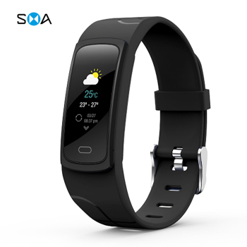 SMAWATCH B3C Smart Band Fitness Tracker Heart Rate Bluetooth Smart Wristbands Sports Smart Bracelet цена 2017