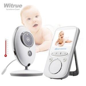 Image 1 - Wireless Baby Monitor VB605 Radio Video Nanny Babyfoon 2.4 Inch Monitor bebe with Camera IR Night Vision baby sitter babymonitor