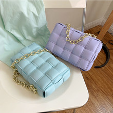 Chain Brand Weave Messenger Bags for Women Designer Luxury Women's Bag Quality Shoulder Crossbody Bags Ladies Travel Handbag