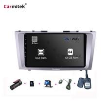 9 дюймов Android камера DVD gps навигационная система сенсорный экран 2din для Toyota Camry vx 40 50 2006 2007 2008 2009 2010 2011