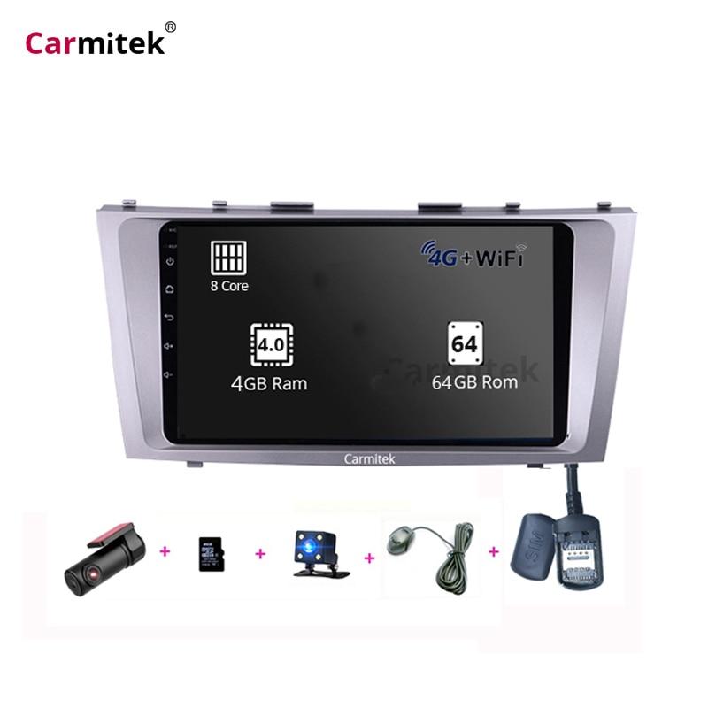 9 pouces Android Camery DVD gps système de Navigation écran tactile 2din pour Toyota Camry vx 40 50 2006 2007 2008 2009 2010 2011