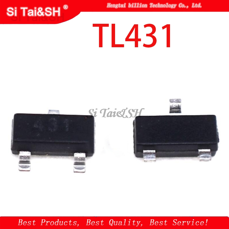 50PCS TL431 SOT TL431A SOT-23 431 SOT SMD New  Voltage Regulator IC
