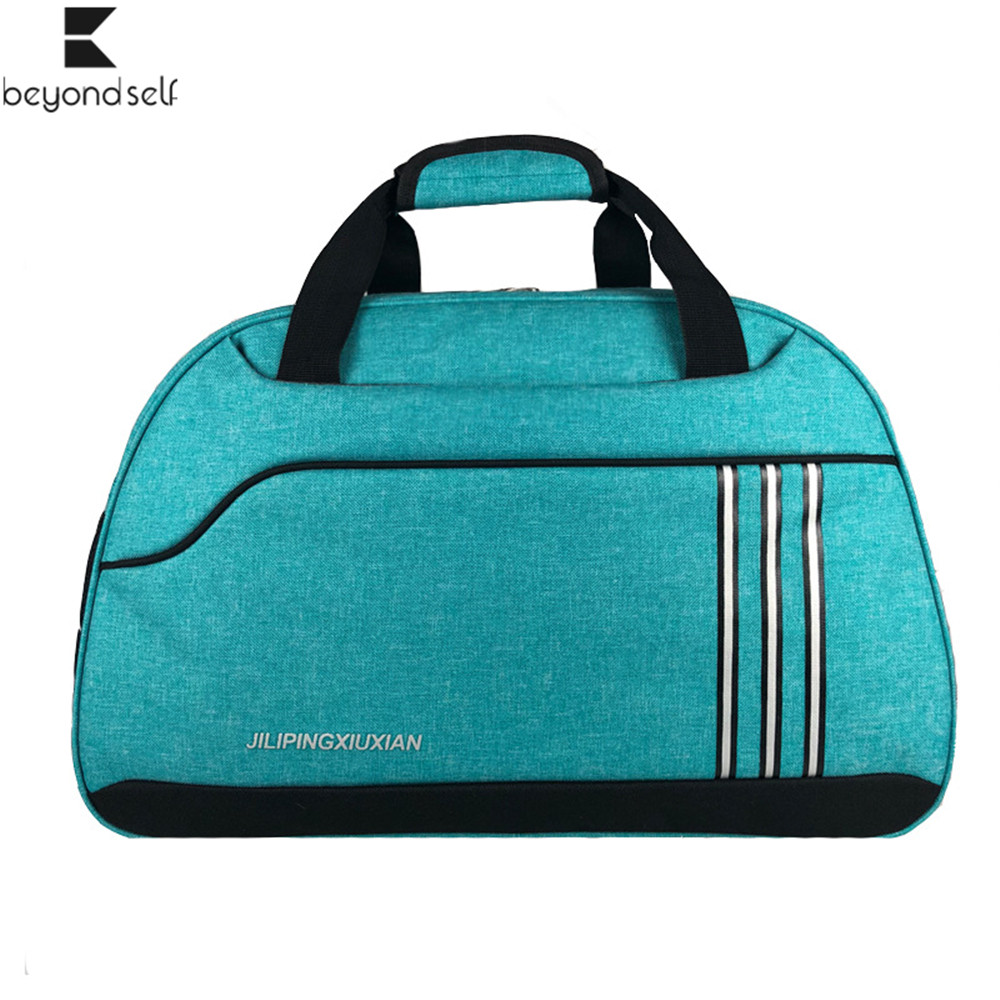 Gym Bags Women Men Sport Handbag Outdoor Sports Fitness Bag Waterproof Hand-held Cross Sportsbag Travel Hand Bag Luggage 3071
