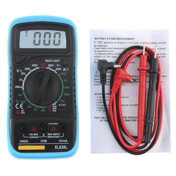 aneng xl830l digital multimeter esr meter testers automotive electrical dmm transistor peak tester meter capacitance