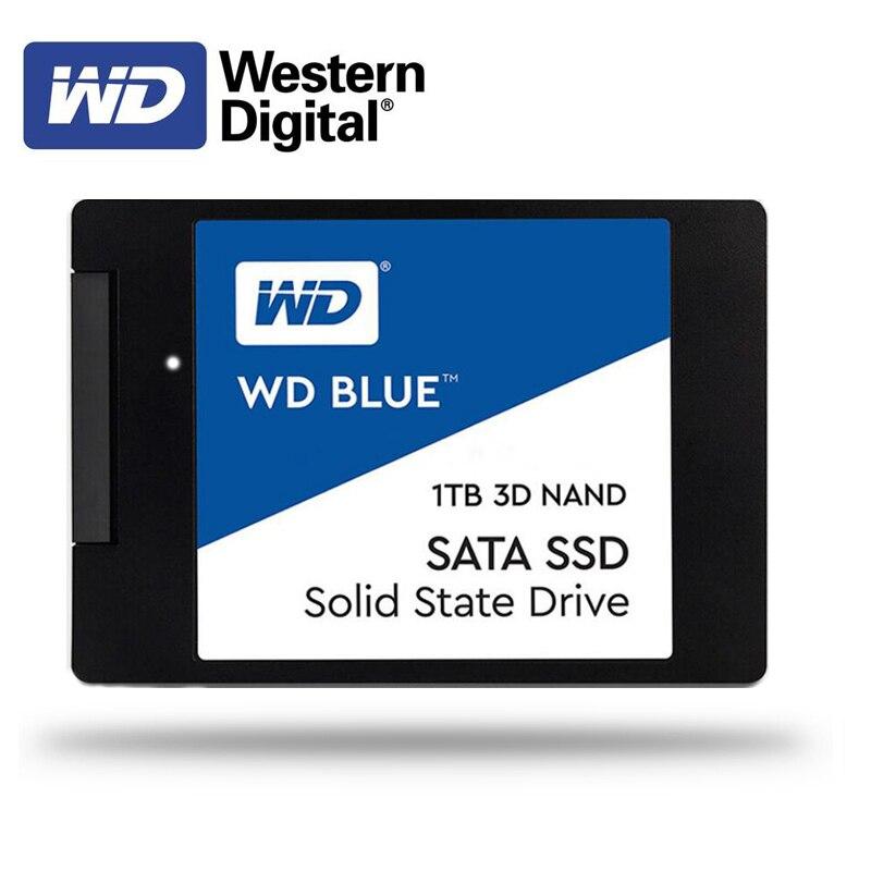 Western Digital WD SSD BLUE 250GB 500GB 1TB Desktop 2.5 Inch SATA III HDD Hard Disk HD SSD PC  Internal Solid State Drive