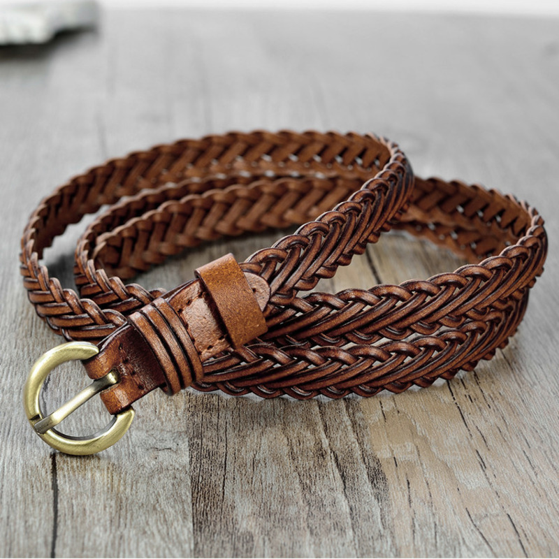 Braided Belt 2020 New Design Belts For Women Corset Belt Trendy Stylish Waistband Female Solid Wide Belt High Fashion Tide ZK632
