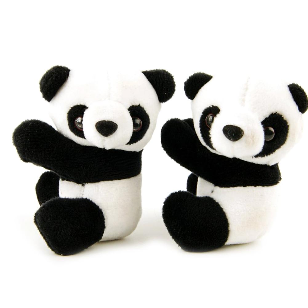 4inch Cute Plush Panda Note Clip Stand Memo Photo Holder Stand Bookmark Small Toy