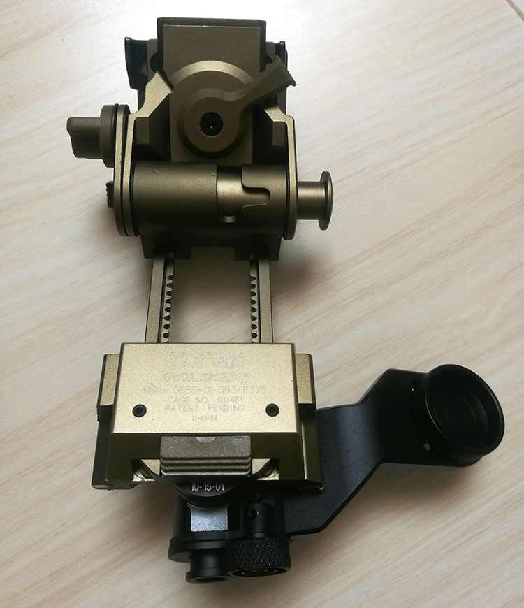 Metal J Brazo Soporte Para AN//PVS gafas de visión nocturna Casco de metal L4G24 NVG Mount