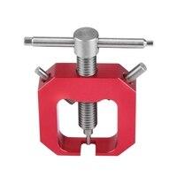 Ev Dekorasyonu'ten Dişliler'de Rc Motor dişli çektirme  profesyonel aracı evrensel Motor pinyon dişli çektirme sökücü için Rc motorlar yükseltme kısmı aksesuarı (kırmızı)