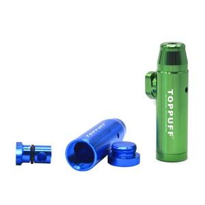 Image 3 - Hornet de humo Sniffer de bala cohete rastreador de Snorter bala de rapé Sniffer de Somking Accesorios