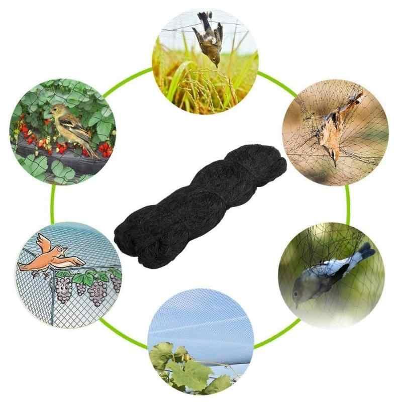 """Yeni 1 adet siyah kuş-önleyici Anti kuş örgü Net örgü meyve bitki ağacı 0.8 """"kare örgü boyutu tarım araçları"""
