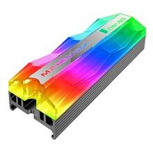 JONSBO M.2 радиатор SSD ARGB MOBO 3PIN 5 в аура синхронизация стример жесткий диск кулер M.2-2