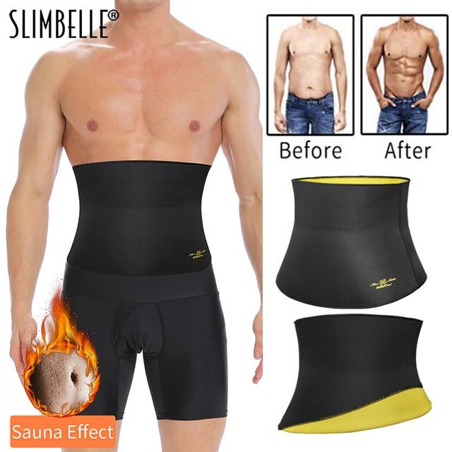 Sweat Waist Trainer Gym Belly Fat Burning Sauna Slimming Belt Shapewear Waist Cincher 2