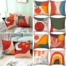 Pillowcase Nordic-Style Velvet Home 18x18inch-Room Decorative Cushion Sofa