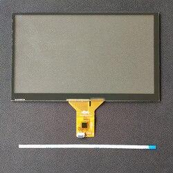 Navegação do carro dvd 6.2 polegada tela de toque capacitivo 155*88 6 linha da tela de toque gt911 6 p linha 7 polegada 164*99 8 polegada 192*116