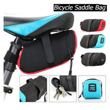 Bicycle Saddle Bag Bicycle Lower Seat Storage Bag Polyester Waterproof Bike Bag Outdoor Bicycle Rear Tail Pouch Bike Accessories b soul ya130 bike bicycle oxford quick release saddle seat tail bag w reflective strips black