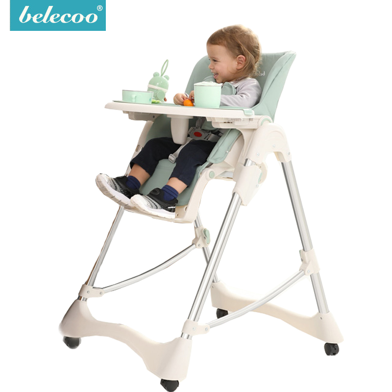 Belecoo Baby Feeding Chair Kids Table Baby High Chair Baby Chair Feeding