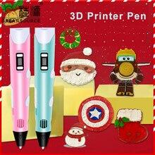 3D Printer Pen 3D Color Picker Pen 23 Sets Consume Material Electronic Photo Album Scissors and Fingerstall set(4 PCS)