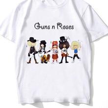 Guns N Roses Streetwear T Shirt Men Summer Print T Shirt Boy Short Sleeve With White Color Fashion Top Tees xxxtentacion t shirt men summer print t shirt boy short sleeve with white color fashion top tees mmr609