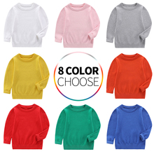 Sweaters Children Clothing Boys Girls Sweaters Kids  Wear Baby Clothes Winter Toddler New 2019 Spring Autumn for 2-8 Years tbz 1 5yrs kids sweaters new 2016 winter spring girls clothes fashion boys clothes little rabbit embroidered knitting wool suit