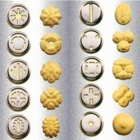 Baking Tools Manual Biscuit Cookie Press Stamps Set Cake Decorating Kitchen Tool Maker with 20 Cookie Flower Pattern Piece Molds