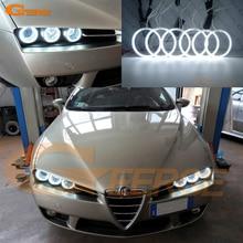 цена на For Alfa Romeo 159 2005-2011 Excellent Quality CCFL Angel Eyes kit Ultrabright headlight illumination angel eyes kit Halo Ring