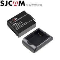 SJCAM-batería SJ4000 + cargador de batería para cámara SJ Original, WiFi, SJ5000, SJ5000X Elite, SJ 4000, cámara de acción deportiva, 1 Uds.