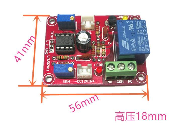 LM393 Double Limit Voltage Comparison Undervoltage And Overvoltage Protection Module Voltage Detection Switch