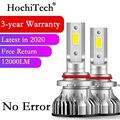 H4 светодиодный H7 H11 H8 HB4 H1 H3 9005 HB3 9006 HB4 9012 H9 автомобильный головной светильник, лампы 75 Вт 12000LM автомобильные аксессуары 6000K белый светодиодный ...