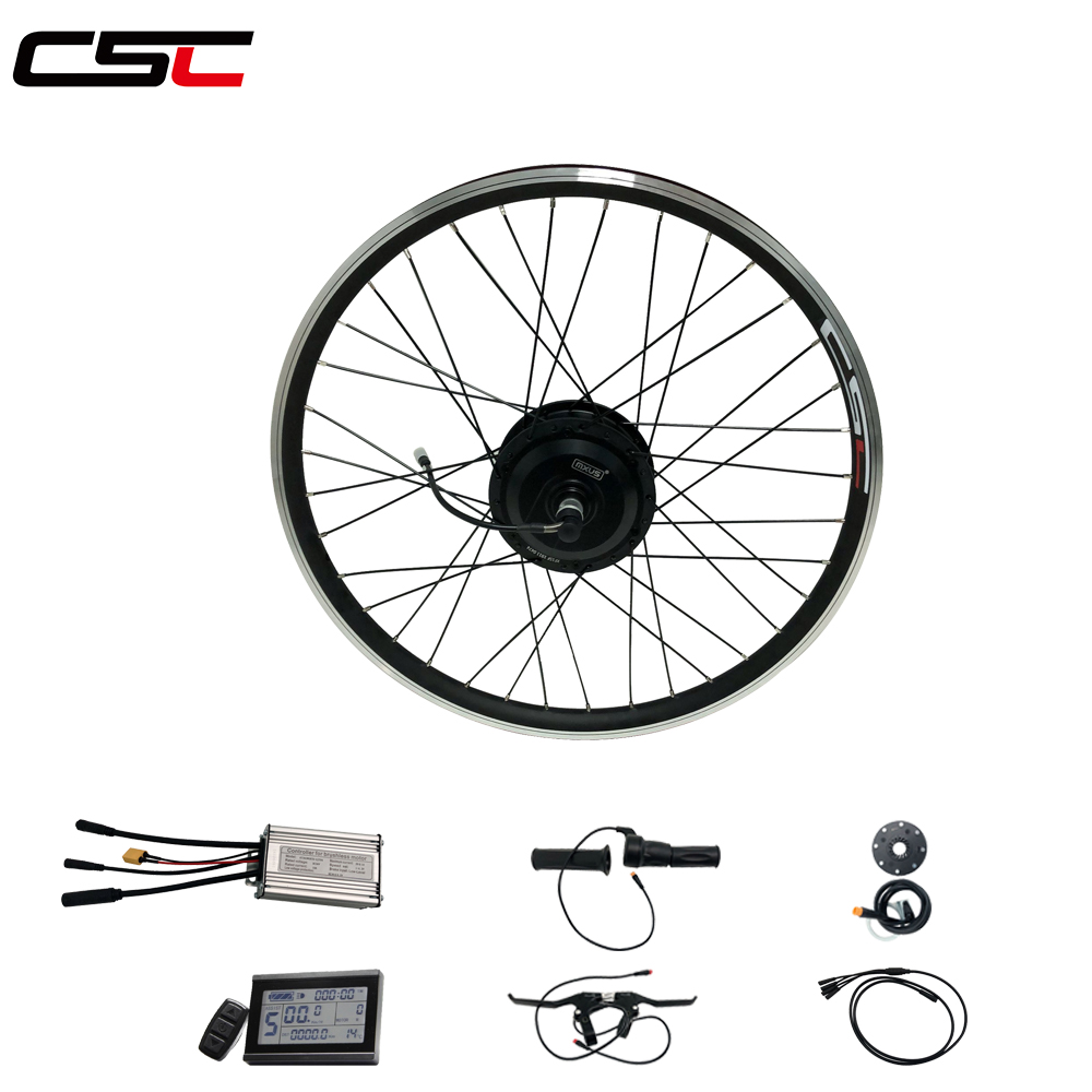 bike Motor Wheel 36V 350W ebike Conversion Kit 20 24 26 27.5 28 29in 700C