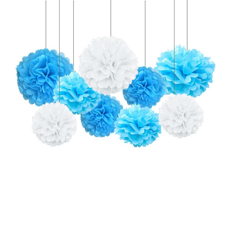 Bule Bayi 1st Anak Ulang Tahun Pesta Foli 32 Inci Nomor Balon 12 Bulan Bingkai Foto Banner 1 Tahun Ulang Tahun Dekorasi ballon