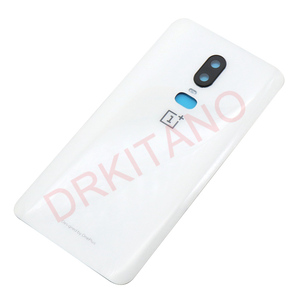 Image 4 - Original NEW Back Glass Cover Oneplus 6 6T Battery Cover Door One PLUS 6 Housing Rear Panel Case Oneplus 6T Back Battery Cover